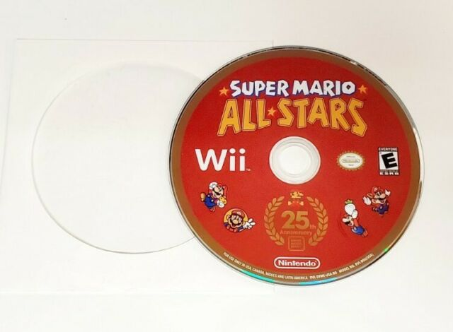 Super Mario All-Stars 25th Anniversary Edition (Nintendo, Wii 2016) - Disc Only
