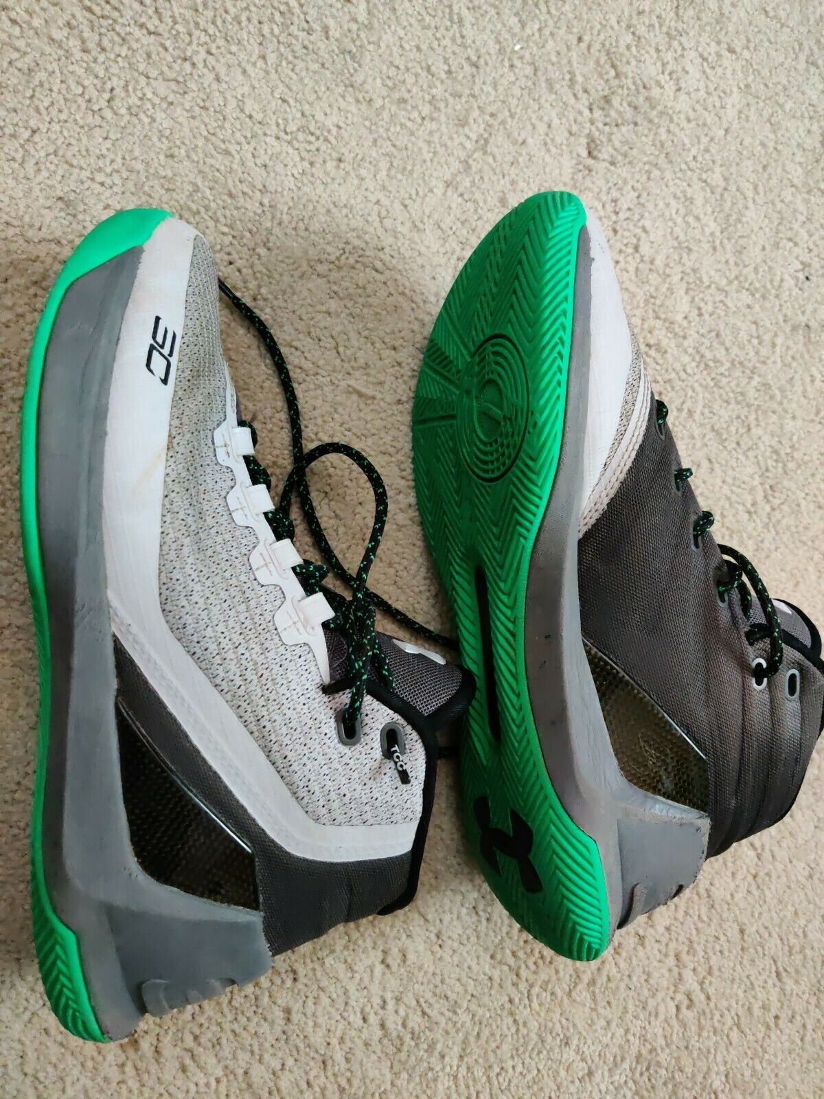 Mens Under Armour Curry 3 Size 12