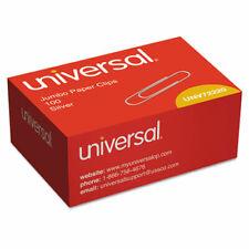 Universal Paper Clips Jumbo Silver 100box