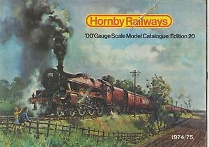 HORNBY 00 GAUGE MODEL RAILWAYS 20TH EDITION ( 1974 ) PRODUCT RANGE CATALOGUE