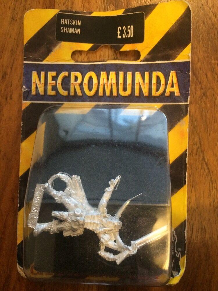 Necromunda Ratskin Shaman New In Blister Metal Warhammer Warhammer Warhammer a79005