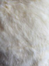 BEAUTIFUL CREAM BRIDAL FUR FABRIC SOLD BY THE HALF METRE LENGTHS