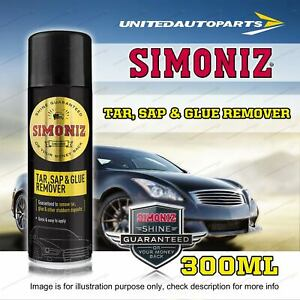 Simoniz Tar Sap and Glue Remover 300ML Guaranteed Removal Of Sticky Residue