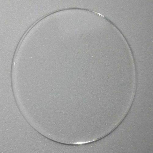Qualité Montre Verre Minéral Cristal Visage Plat Rond 0.8mm Épais Ø 12.1mm