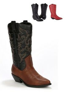 84f1e5844a3 Details about WOMEN'S WESTERN POINTY TOE RODEO COWGIRL COWBOY BOOTS, SODA  RENO