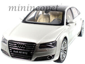 KYOSHO CS AUDI A L W DIECAST CUVEE SILVER EBay - Audi a8 l w12