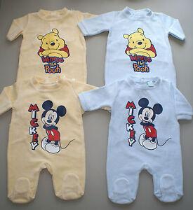 Disney Winnie Pooh Baby T Shirt Jungen Kurzarm süße Motive Gr 62 68 80 86 92