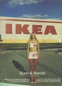 PUBLICITE ADVERTISING 2002   IKEA hyper & marché meubles ameublement magasins