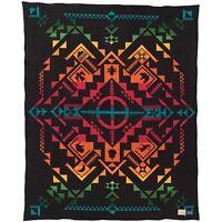 Pendleton Blanket Shared Spirits Black 64 X 80 Model Zl494-52242