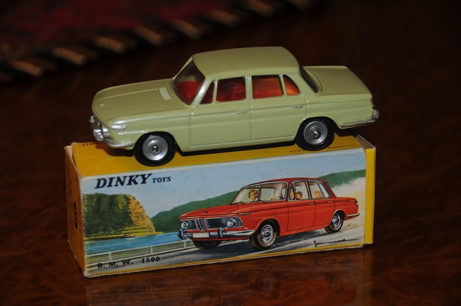 Vintage Dinky Toys   MIB   BMW 1500   No. 534