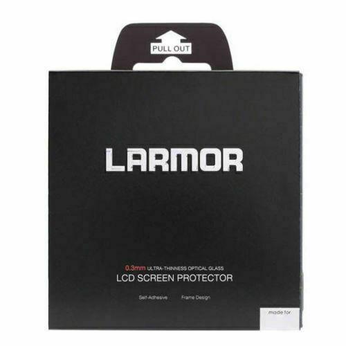 De LARMOR vidrio protector de pantalla LCD para Fuji X-H1 Reino Unido stock