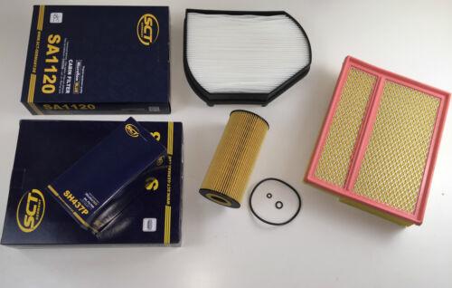 Filtre à huile pollen filtre filtre à air sct GERMANY w202 s202 C 200 D c220 D c250 d