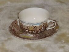 1 Set Vintage Johnson Brothers Olde English Countryside Cups & Saucers England