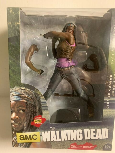"MICHONNE The Walking Dead amc TV Show 10/"" inch Deluxe Action Figure 2015"