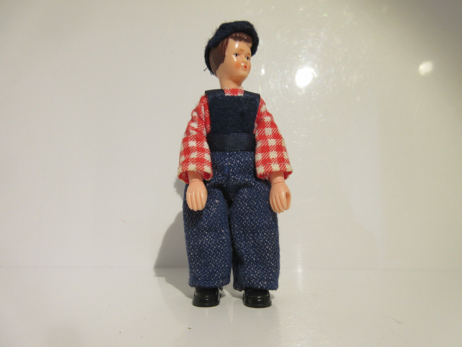 13412 Schleich Farmer   Red shirt  VERY RARE ref 1D1456