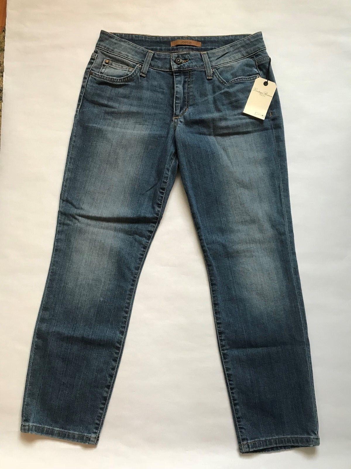 Joe's Womens Crop Jeans Size 28 Slim Straight Vintage Reserve Lottie NWT
