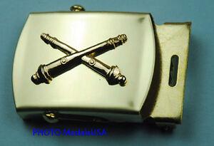 FIELD-ARTILLERY-ARMY-BRANCH-blue-Web-Belt-amp-Brass-Buckle-869