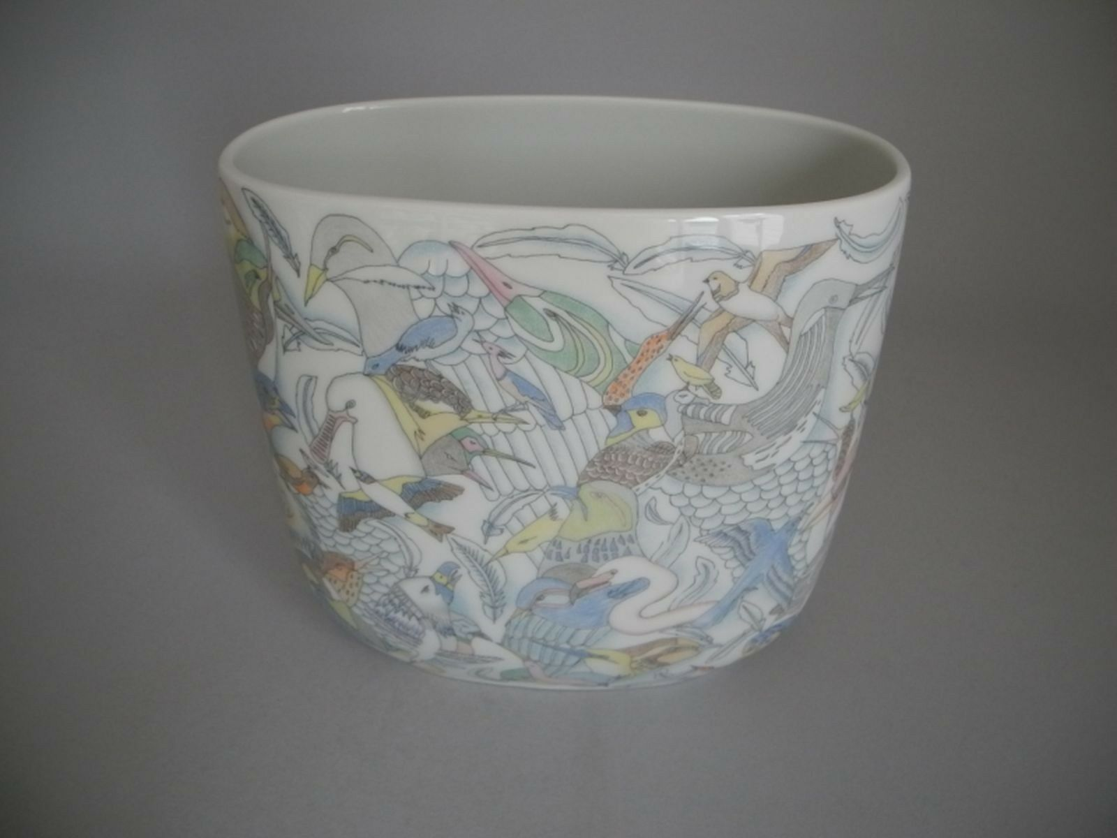 Rosanthal Vase Vogelparadies von Bjørn Wiinblad ca. 20cm -rar- | Up-to-date Styling