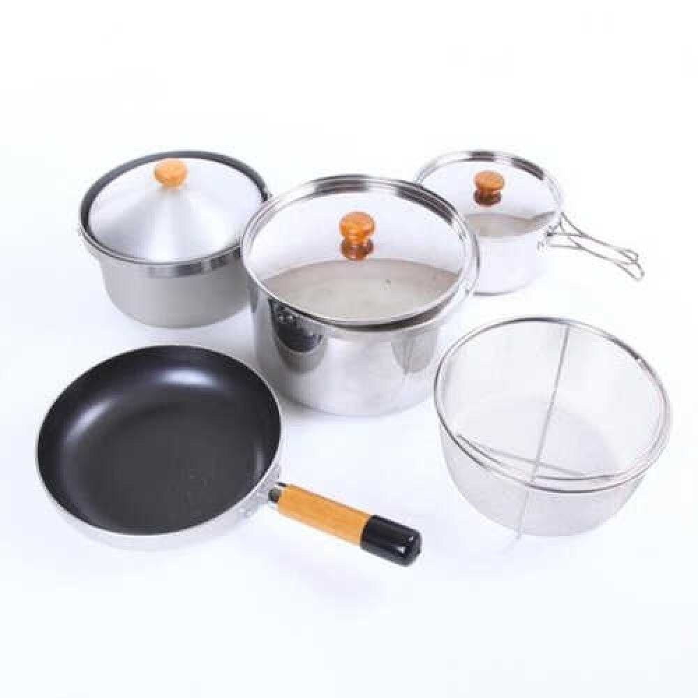 UNIFLAME 660256 fan5 DX Five cooking ware Set New New New Fast Shipping From Japan EMS a9d525