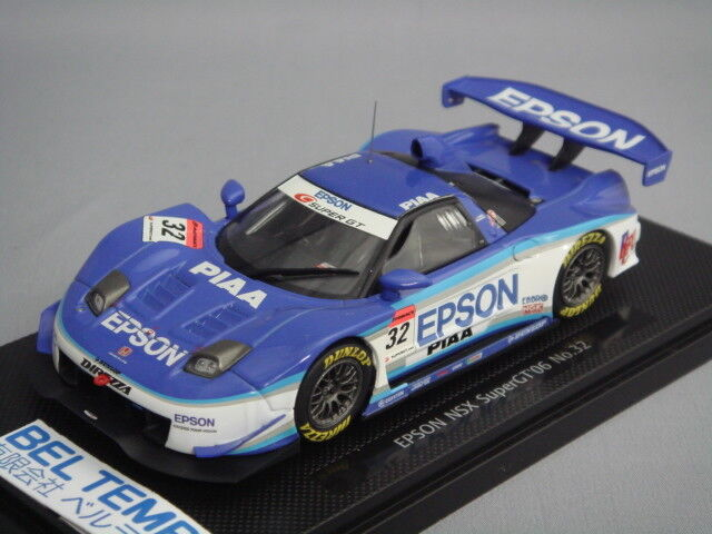 Ebbro 1 43 Epson NSX Super GT500 2006 L . Duval   H. Muto from Japan