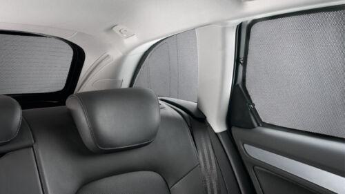 Audi Sonnenschutz A3 8V Sportback 3er Set S3 e g tron Hinten Schwarz