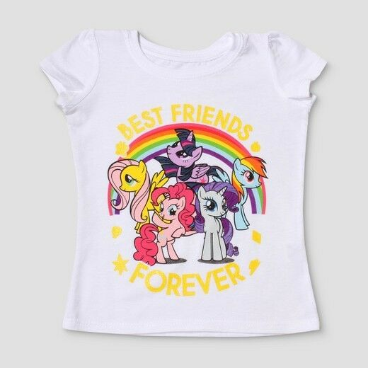 f4f66dbd0 Toddler Girls My Little Pony Best Friends Forever Shirt Size 4T New with  Tags!