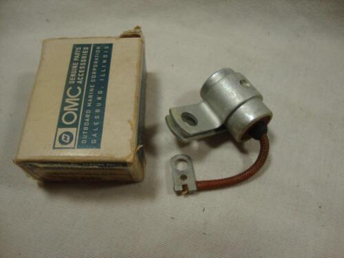 Genuine OMC Johnson Evinrude condenser 380166 DU-15S DUE-15S DUE-15F