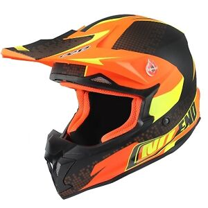 Casque-cross-Noend-Defcon-By-OCD-TX696-orange-mat-Moto-Dirt-Quad-Enduro