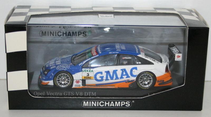 MINICHAMPS 1 43 - 400044493 OPEL OPEL OPEL VECTRA GTS V8 SHANGHAI DTM 2004 OPC H FASSLE 30d54c
