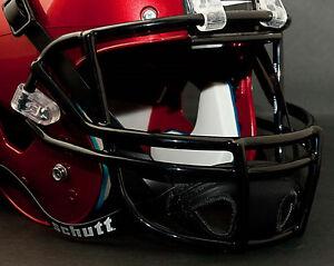 Schutt-Super-Pro-OPO-Football-Helmet-Facemask-Faceguard-BLACK