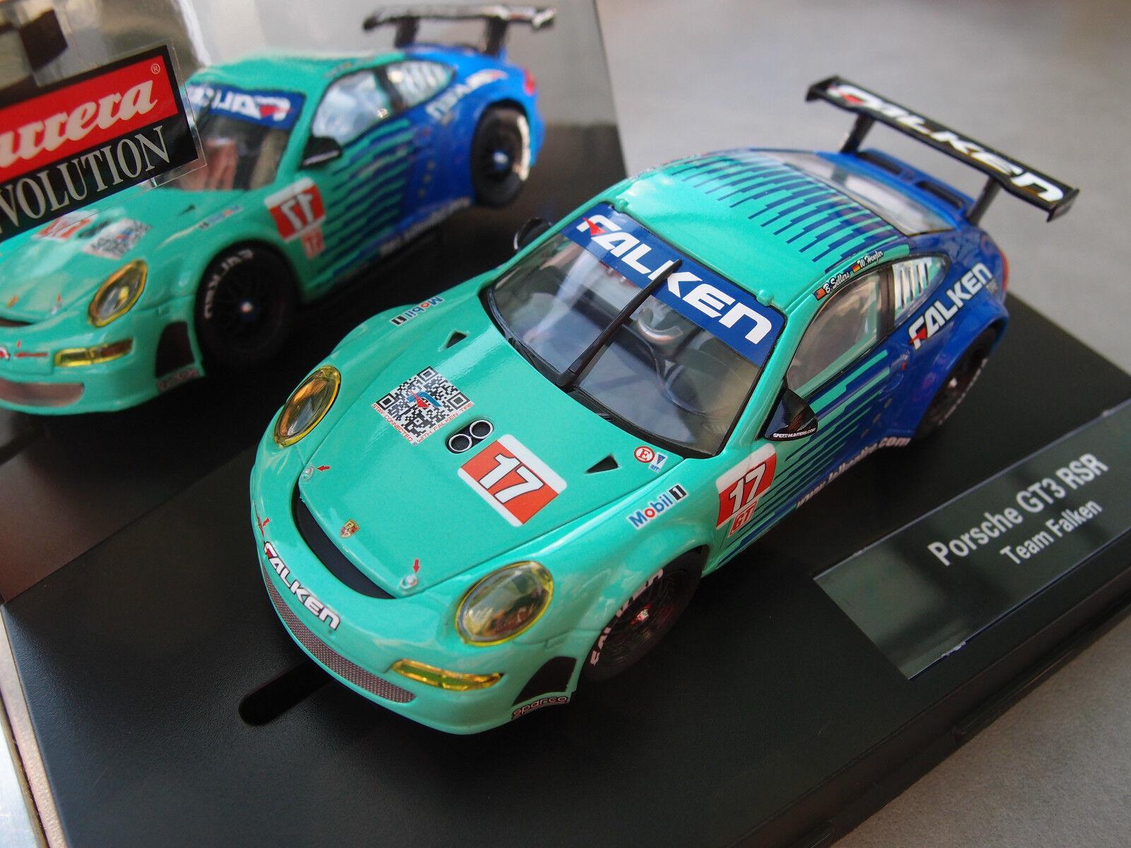 Carrera Evolution 27429 Porsche GT3 RSR   Team Falken, no. 17  , 2009