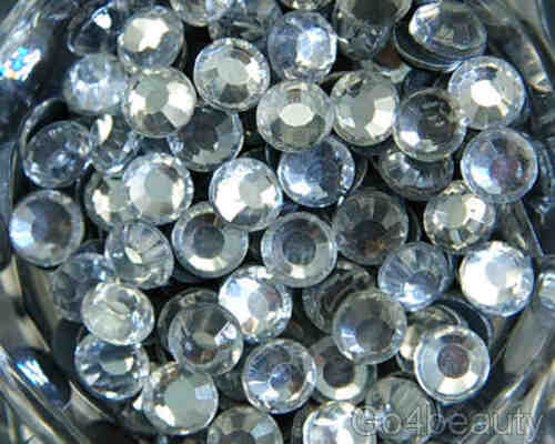 ss30 6mm Iron On Hot Fix Rhinestones in Varies Colours and Varies Lots