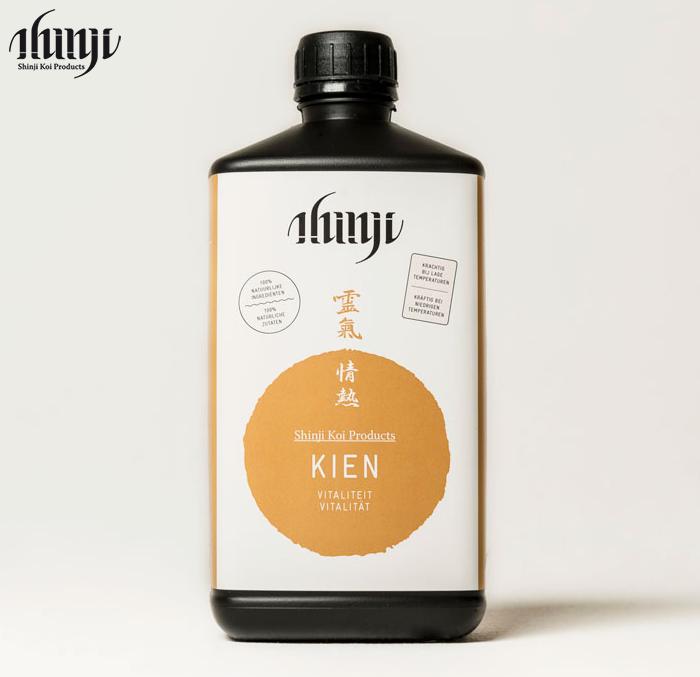 Shinji KIEN - Steigert die Vitalität und stärkt Ihre Koi -Nahrung auch im Winter
