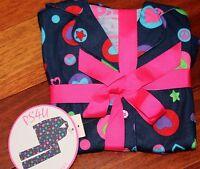 Girl's 2-Piece HEART PAJAMAS Set Peace Signs P.S. AEROPOSTALE KIDS PS4U Size 4