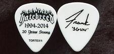 HATEBREED 2014 Divinity Tour Guitar Pick!! FRANK NOVINEC custom concert stage #1
