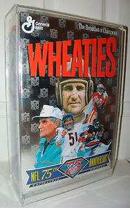 Commemorative-Full-Size-NFL-75th-Wheaties-Box-Walter-Payton-Butkus-Jerry-Rice