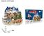 miniatura 20 - Puzzle 3D Natale fai da te casa modello assemblaggio carta Toy Cartoon Home Puzzle UK