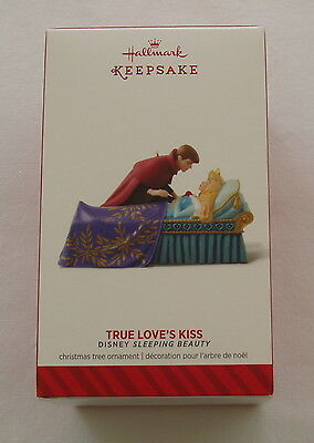 Hallmark 2014 Disney Sleeping Beauty Princess True Loves Kiss Chrismas Ornament
