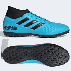 Details about adidas Predator 19.4 TF Mens Astro Turf Football Boots Blue SIZE 6 9 9.5 10 10.5