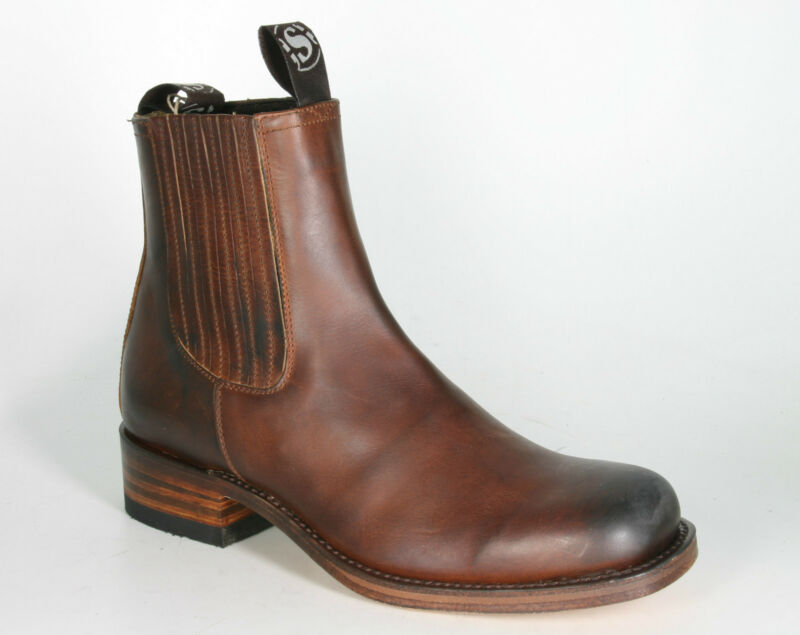 4126 Sendra Boots Farmer Stivaletti 84 Evolution Con Guardolo Stivali In Pelle