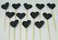 12-Paillettes-Coeur-Cupcake-Toppers-Parti-Decoration-cup-cake-topper-Food-drapeaux miniature 11
