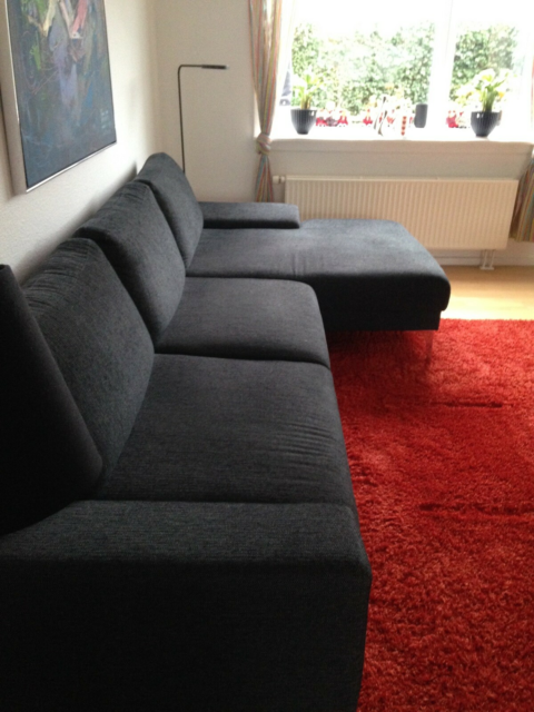 Sofa, 310x86  Chaiselong 150 cm