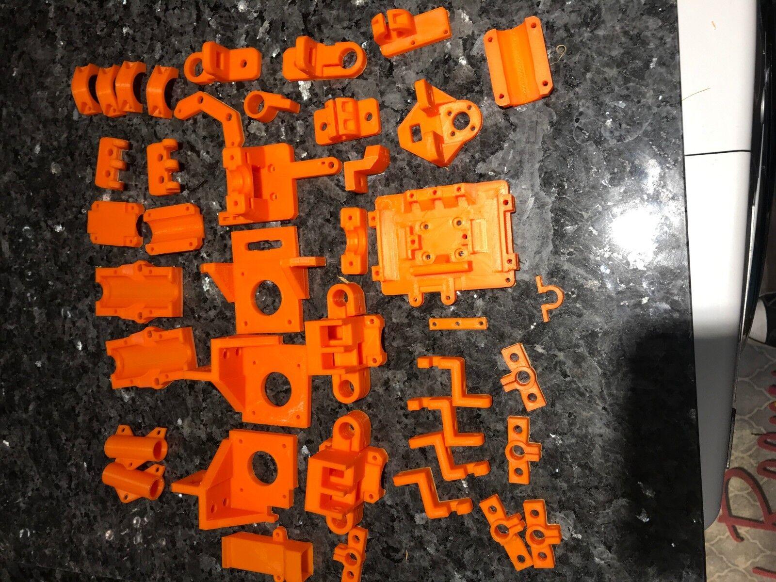 HyperCube 3D Printer Printed parts in (ABS & PETG)