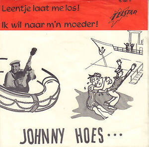 JOHNNY-HOES-Leentje-Laat-Me-Los-1963-TELSTAR-VINYL-SINGLE-7-034
