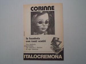 advertising-Pubblicita-1975-BAMBOLA-CORINNE-ITALOCREMONA