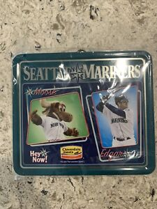 🔥⚾️Seattle Mariners Tin Lunch Box Collectors Item REFUSE TO LOSE