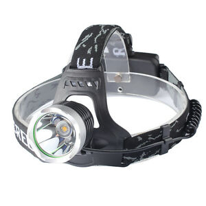 20000LM XML T6 LED Head Torch 18650 Headlamp Headlight 18650 Battery Charger
