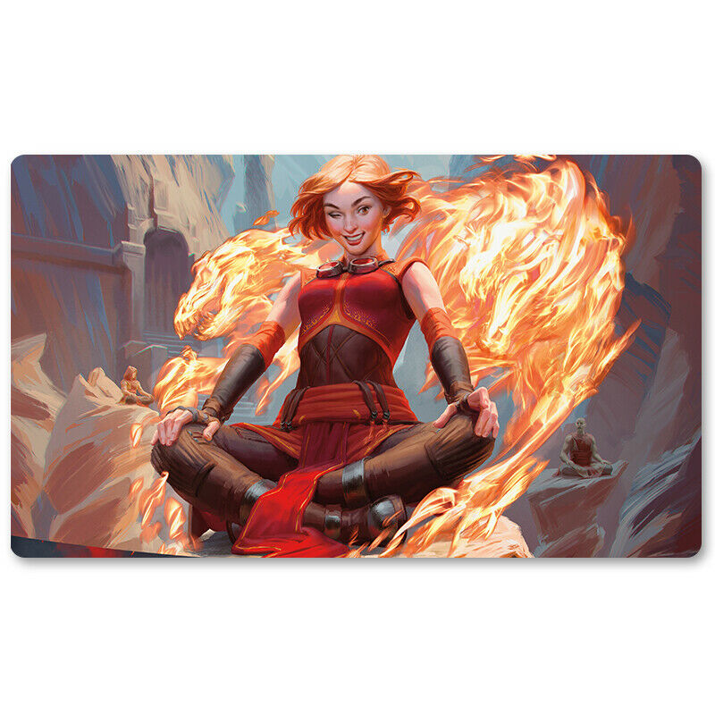 CHANDRA ACOLYTE OF FLAME - Board Game MTG Playmat Games