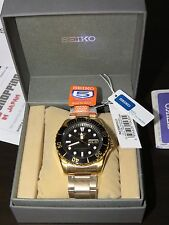 Seiko 5 Sports SNZF22J1 Made In Japan Version SNZF22 Submariner GOLD (NEW 100%)