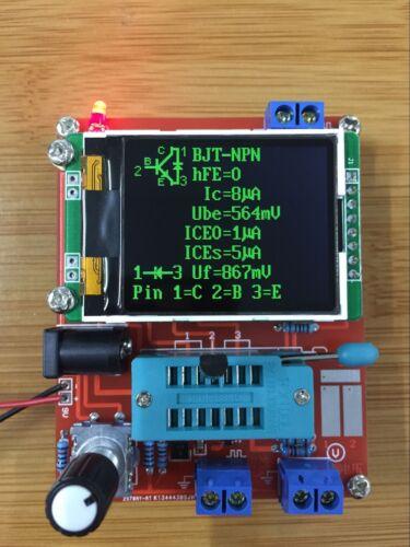 Version 2019 Transistor Testeur Diode LCR Capacitance ESR Meter Générateur de signal